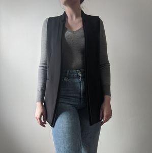 Sleeveless H&M Blazer Vest